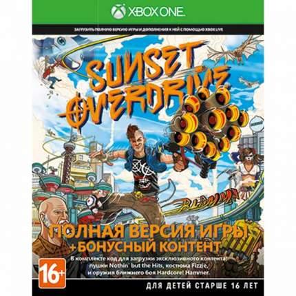 Игра Sunset Overdrive для Xbox One