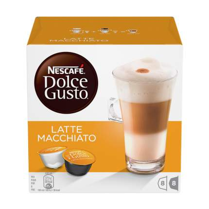 Кофе в капсулах Nescafe Dolce Gusto latte macchiato 16 капсул