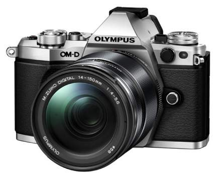 Фотоаппарат системный Olympus OM-D E-M5 Mark II 14-150 II Kit Silver