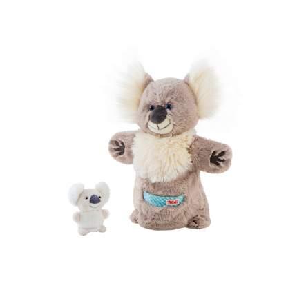 Мягкая игрушка Trudi на руку Коала с детенышем, 28 см