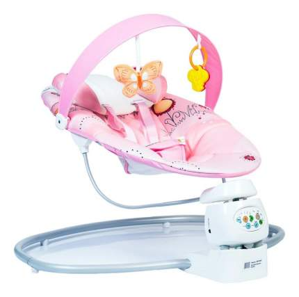 Электрокачели babyhit best rest-pink