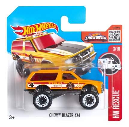 Машинка Hot Wheels CHEVY BLAZER 4X4 5785 DHT03