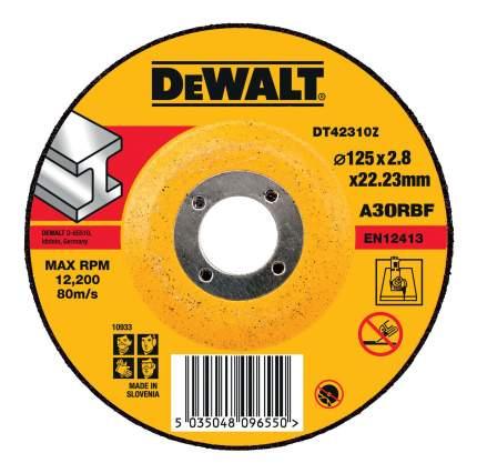 Диск отрезной абразивный по прочим материалам DeWALT DT42310Z-QZ
