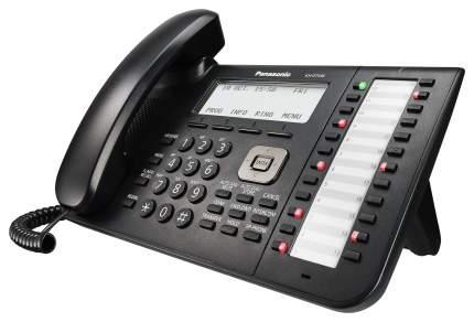 Проводной телефон Panasonic KX-DT546RUB черный