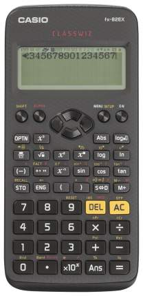 Калькулятор Casio FX-82EX Черный