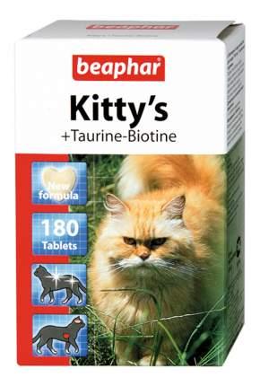 Витаминный комплекс для кошек Beaphar Kitty's, +Taurine, Biotin 180 таб