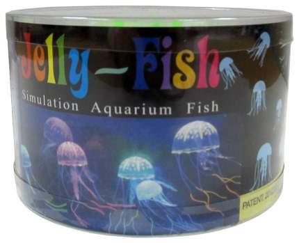 Декорация для аквариума JELLYFISH медуза разноцветный