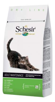 Сухой корм для кошек Schesir Adult Maintenance, ягненок, 1,5кг
