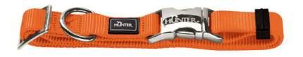 Ошейник Hunter Smart ALU-Strong с застежкой M, обхват шеи 40-55 см, оранжевый