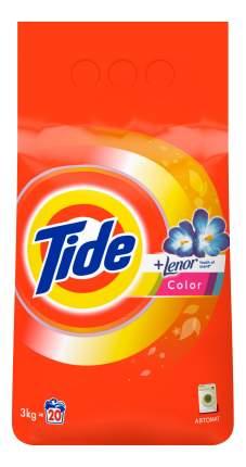 Порошок для стирки Tide color lenor scent автомат 3 кг
