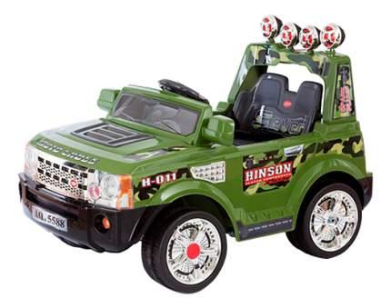 Электромобиль Jetem 2-х моторный зелёный Range
