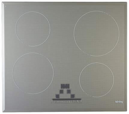 Встраиваемая варочная панель индукционная Korting HI 6450 B GR Grey