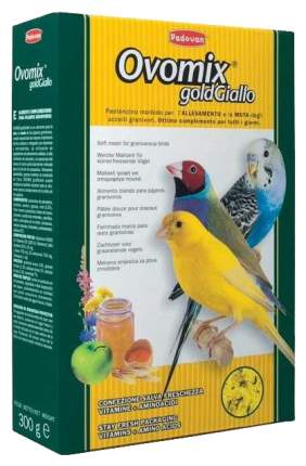 Корм для птиц Padovan Ovomix Gold Giallo яичный 1 кг