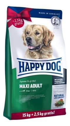 Сухой корм для собак Happy Dog Supreme Fit & Well Mini, для мелких пород, птица, 17,5кг