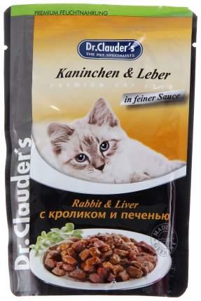 Влажный корм для кошек Dr.Clauder's, кролик, 100г