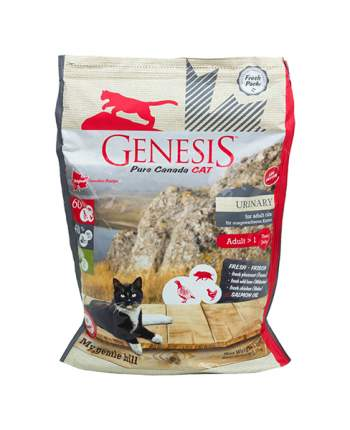 Сухой корм для кошек Genesis Pure Canada My Gentle Hill Urinary, дичь, курица, 2,2кг