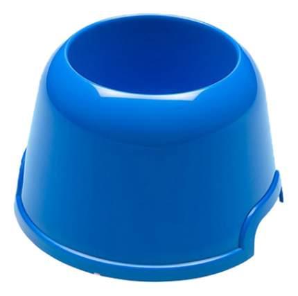 Одинарная миска для собак Ferplast, пластик, синий, 0.5 л