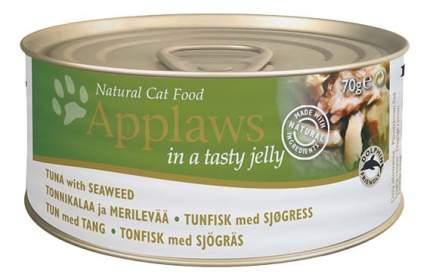 Консервы для кошек Applaws, с тунцом и морской капустой в желе, 70г