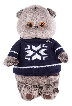 Мягкая игрушка BUDI BASA Ks25-044 Басик в свитере 25 см