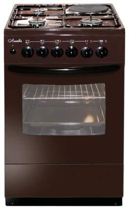 Комбинированная плита Лысьва ЭГ 1/3г01 М2С-2у Brown