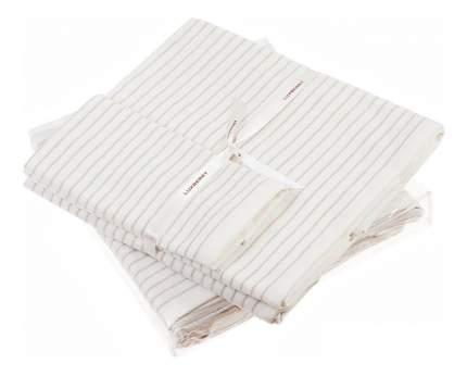 Набор полотенец Luxberry бежевый, белый