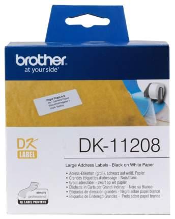 Набор наклеек Brother DK-11208 Белый