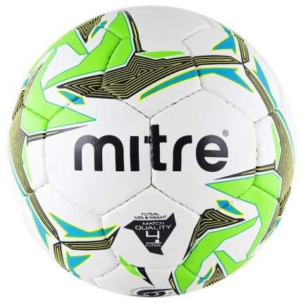 Футбольный мяч Mitre Futsal Nebula №4 white/green