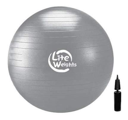 Гимнастический мяч Lite Weights 1868LW серебристый 85 см