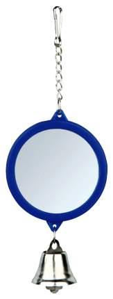 Дразнилка для птиц TRIXIE Зеркало с колокольчиком ,Пластик, Металл, 11см