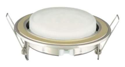 Встраиваемый светильник Camelion FM1-GX53-GC золото, хром
