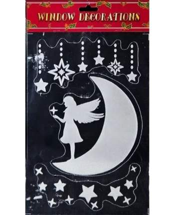 Наклейки для окна Лунная фея 30*20 см RD-60255