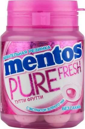 Жевательная резинка Mentos тутти-фрутти без сахара с экстрактом зеленого чая 54 г