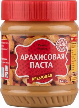 Паста арахисовая Peanut Butter кремовая 340 г