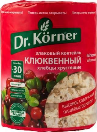 Хлебцы хрустящие Dr.Kоrner злаковый коктейль клюквенный 100 г
