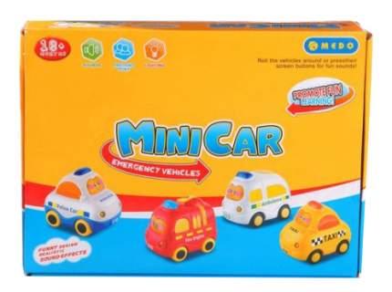 Набор машин Mini Car 8 шт. Gratwest Б61432