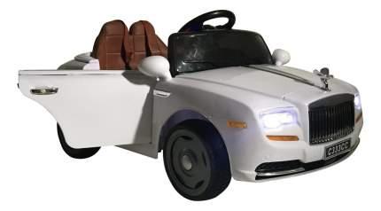 Электромобиль Rolls Royce белый RIVERTOYS
