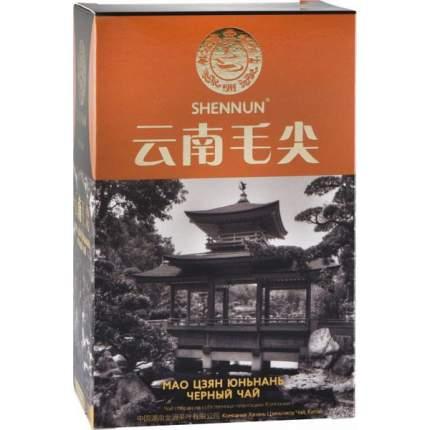 Чай черный Shennun мао цзян юньнань 100 г