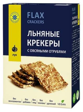 Крекеры льняные Компас Здоровья классический 150 г