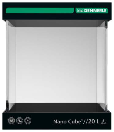Нано-аквариум для рыб, для растений Dennerle NanoCube, 20 л