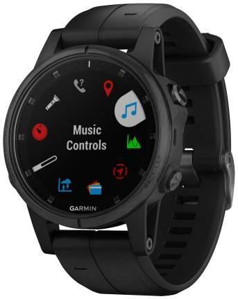 Смарт-часы Garmin Fenix 5S Plus Sapphire черные