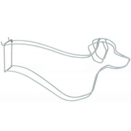 Вешалка для одежды собак TRIXIE Display for Dog Clothes, серая, 8х27х50 см