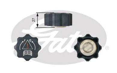 Крышка системы охлаждения Gates RC210