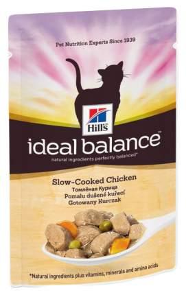 Влажный корм для кошек Hill's Ideal Balance, курица, 12шт, 85г