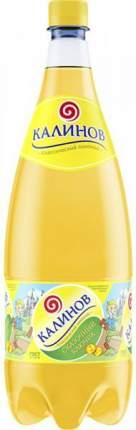 Лимонад Калиновъ классический Буратино сильногазированный пластик 1.5 л