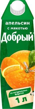 Нектар апельсин Добрый с мякотью 1 л