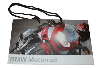 Средний бумажный подарочный пакет BMW Motorrad Paper Bag Medium, артикул 81800417903