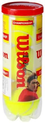 Набор теннисных мячей Wilson Championship WI002DUPVG32 3 мяча