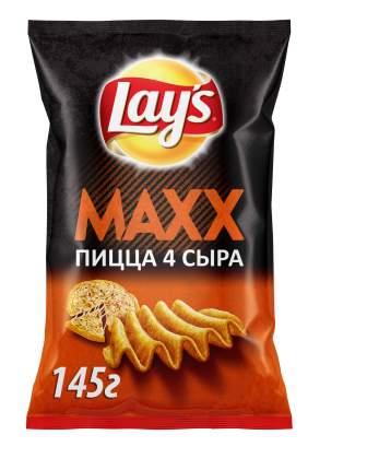 Картофельные чипсы Lay's maxx пицца 145 г