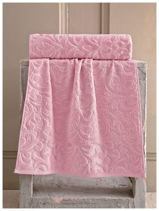 Полотенце Karna Hazal Цвет: Пудра (50х90 см)