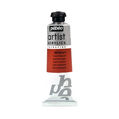 Акриловая краска Pebeo Artist Acrylics extra fine №3 металли медь 37 мл